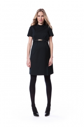 The little black dress for mother-to-be