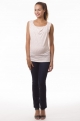 2 in 1 Maternity and nursing top with red stars - Marie