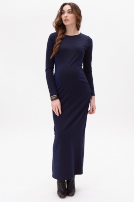 Long maternity dress