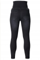 Black Maternity Jeans in cotton