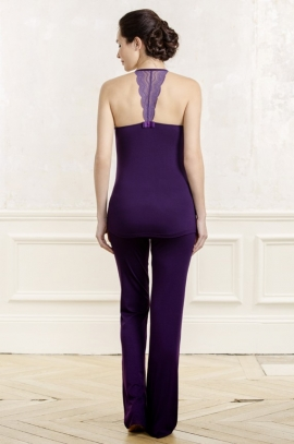 Blueberry Maternity pant - Serenity