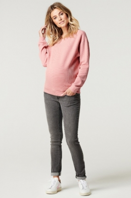 Maternity Sweater Aimee - Rose