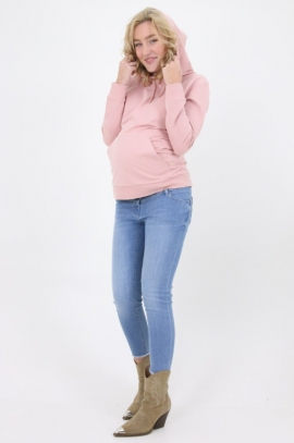Maternity & nursing sweatshirt - Pink