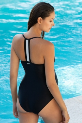 Black maternity swimsuit - Roxana