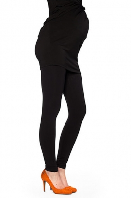 Black legging for pregnant woman