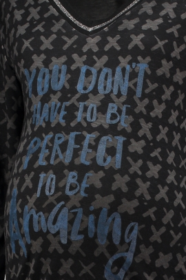 T-shirt 'You don't have to be perfect to be amazing'