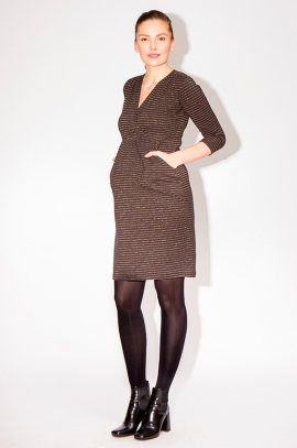 Robe grossesse manches 3/4