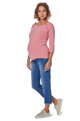 Jean's taille basse pour future maman