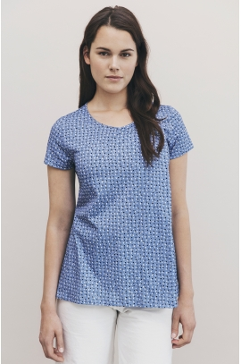 Maternity & Nursing t-shirt with dots print - Boob - In organic cotton