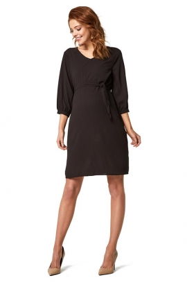 Sophisticated maternity dress