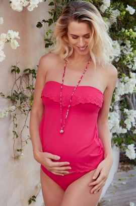 Maternity Tankini Bloom