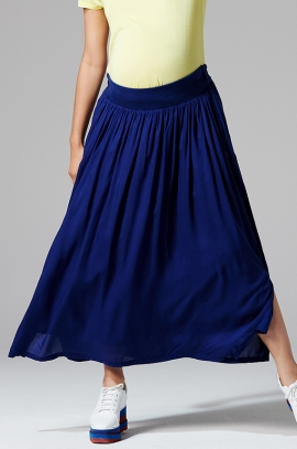 Maternity long skirt