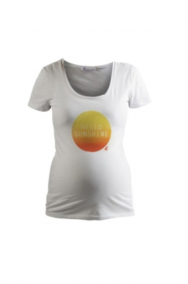 T- shirt grossesse Hello Sunshine