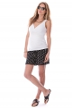 Ethnic lightweight maternity shorts