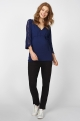 Navy Maternity blouse