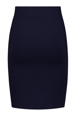 Blue Maternity Skirt