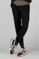 Black business maternity trousers