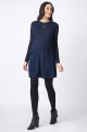 Navy Maternity and nursing Tunic
