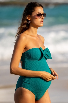 Maternity swimsuit Retro Bamboo