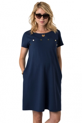 Sinikka maternity and nursing dress