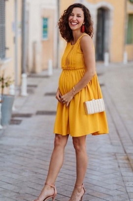 Maternity and nursing dress - Raffaela
