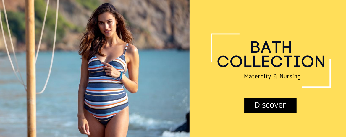 Maternity and nursing swimwear